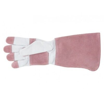 Annabel Trends SPROUT LONG SLEEVE GARDEN GLOVES  - PINK Brand New Great for S...