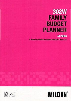 Wildon Landscape A4 Family Budget Planner 302W 48 pages ***33698***
