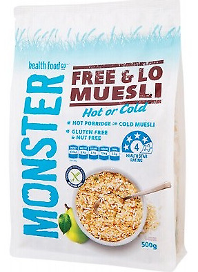 Monster Health Food Co. Free & Lo Muesli 500g