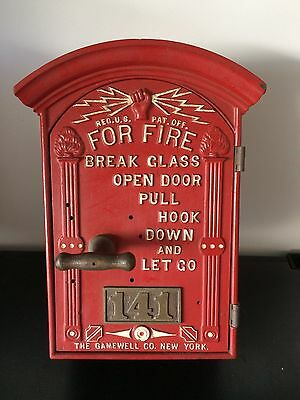 Gamewell Fire Alarm Call Box