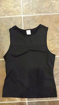 Women's Patagonia black sleeveless outdoor athletic tank top size Small