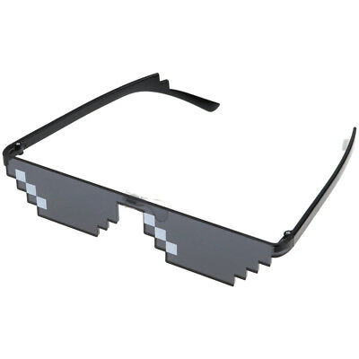 Thug Life Sunglasses Deal With It 8 Bit Pixel Glasses Mlg Unisex Goggles Newest!