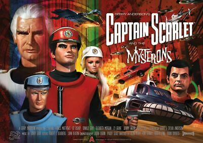 Official Captain Scarlet 50th Anniversary Poster