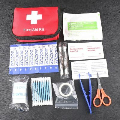 Portable Mini First Aid Kit Outdoor Travel Emergency Survival Medical Rescue Bag