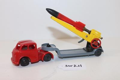 Triang Minic Push & Go Rocket Launcher Truck FNQHobbys SW211