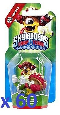 60 x Skylanders Trap Team Action Figure - Sure Shot Shroomboom