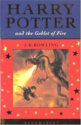 Harry Potter and the Goblet of Fire (Celebratory Edition) By J. K. Rowling