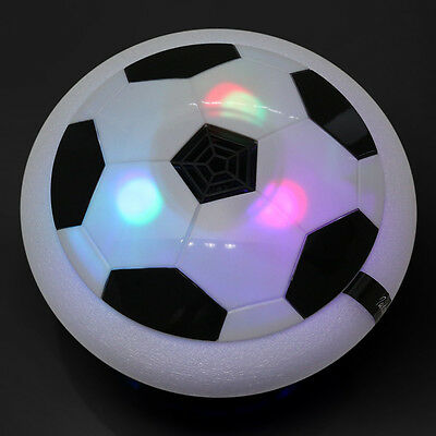 Indoor Air Power Soccer Hover Football Luftkissen Fussball Leuchten Led Disc