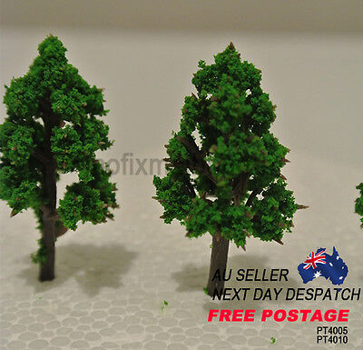 PT4005 Architectural 40MM Scale Pointy Tree Modelling Miniature Trees Pack of 5