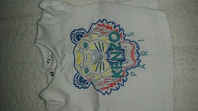 Authentic kenzo tshirt size 3months / 00
