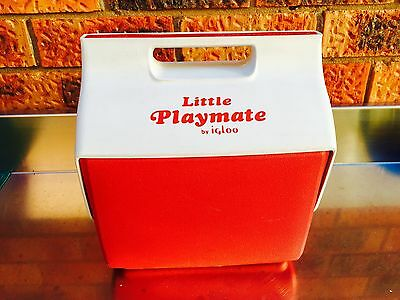 Very Rare Vintage Little Playmate Cooler Ice Box by Igloo