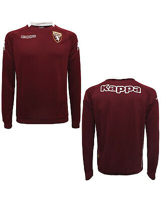 Torino Turin Kappa Training Top Sweatshirt Maroon 2017 18