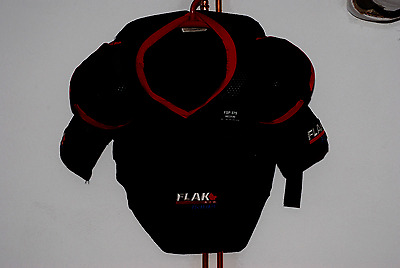 Bauer Flak Air Hockey shoulder pads for Space above and beyond armor replica