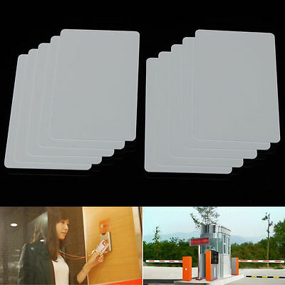 Sample/10/50Pcs NFC Contactless Smart White Card Tag S50 IC 13.56MHz RFID UK