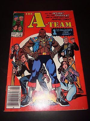 The A-Team #1 Original Marvel Comic Book March 1984 / MR T FN Condition