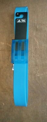 adidas silicone belt.teal colour.cut to size .new