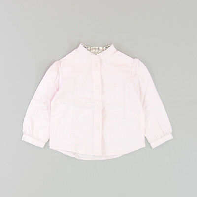 Camisa color Rosa marca Neck & Neck 18 Meses