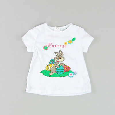 Camiseta color Blanco marca Disney 6 Meses