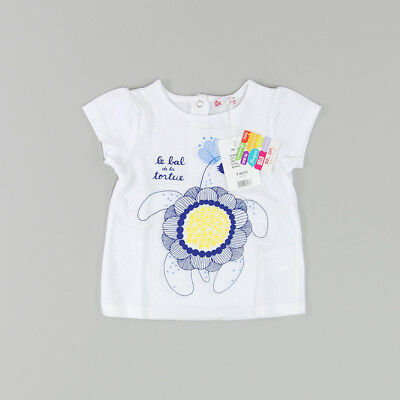 Camiseta color Blanco marca DP…am 9 Meses