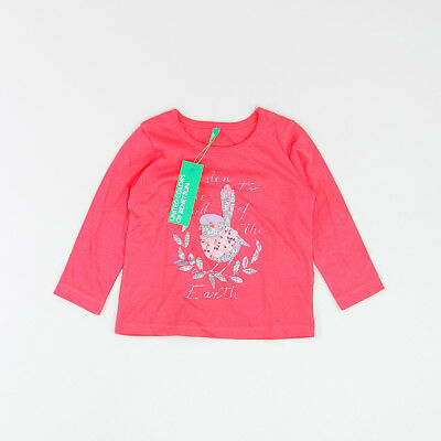 Camiseta color Rojo marca Benetton 12 Meses