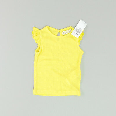 Camiseta color Amarillo marca ZY 12 Meses