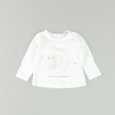 Camiseta color Blanco marca Zara 9 Meses