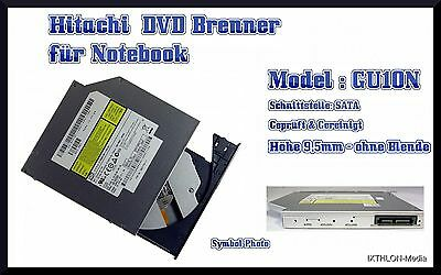 Hitachi Super Multi Notebook Dvd Brenner - Rewriter - Burner - Gu10N - Sata