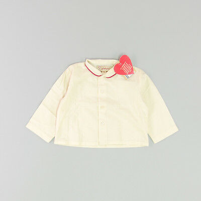 Camisa color Beige marca Vitivic 6 Meses