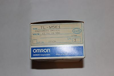 Omron TL-W5E1 Proximity Switch 12VDC to 24VDC New in Box