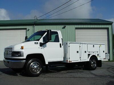 """05 Chevy C4500 Kodiak Utility Service Cold A/c """"77,927 Miles"""" Fully Refurbished"""