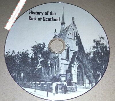 The history of the Kirk of Scotland 8 very old books converted to Pdf on Disc