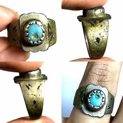 Wonderful Ancient Near Eastern Bronze Ring