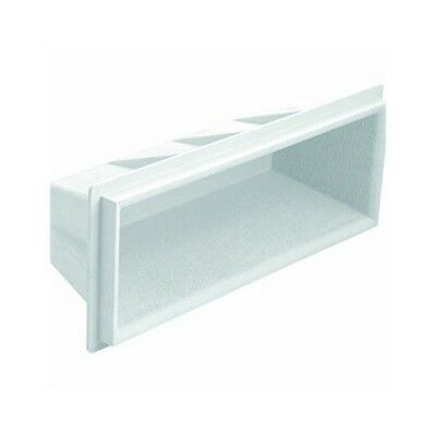 """S.R. Smith 62-209-4001 17.5"""" White Recessed Step for Pools"""