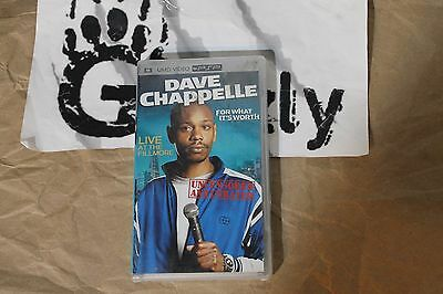 USED Dave Chappelle For What It's Worth PSP UMD Movie (NTSC)