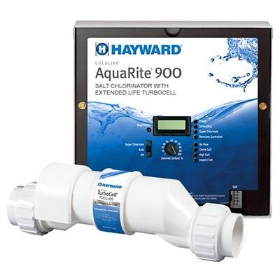 Hayward AQR940 AquaRite 900 Salt Chlorinator with 40K Gallon Extended Turbocell