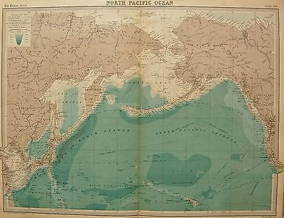 1920  Large  Map : North Pacific Ocean