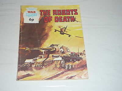 War Picture Library Comic Magazine No734 The Robots of Death Panzer Tank WW2
