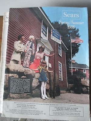 SEARS 1976 Spring/Summer Catalog Good - Very Good Cond.  Research Vintage Items