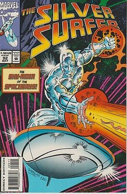 """THE SILVER SURFER """"The Sky-Rider of the Spaceways!"""" MARVEL  Vol 3 No 92 May 1994"""
