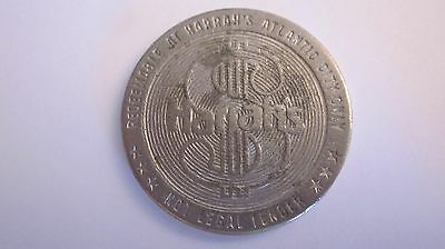 Harrahs Atlantic City   $ 1.00 One Dollar Slot Machine Gaming Token