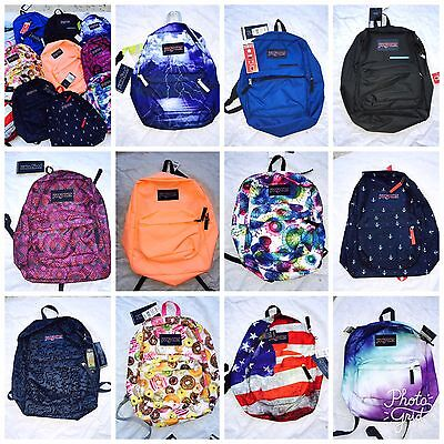 NEW JANSPORT T501 Superbreak BACKPACK Student School Bag 100% AUTHENTIC