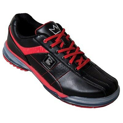 Brunswick TPU X BLACK/RED Mens Right Handed Bowling Shoes WIDE WIDTH