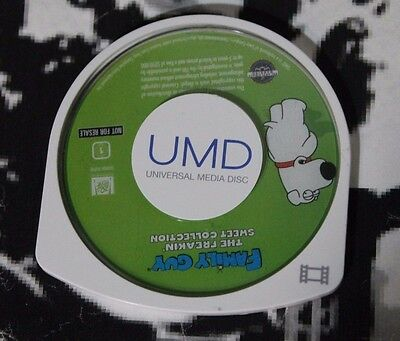USED Family Guy The Freakin' Sweet Collection PSP UMD Movie (NTSC) UMD Only!