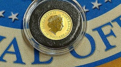 2010 1/10th Oz Gold 9999 Australian $15 Dollars Gold Coin