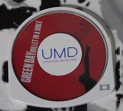 USED Green Day Bullet in a Bible PSP UMD Movie (NTSC) UMD Only!