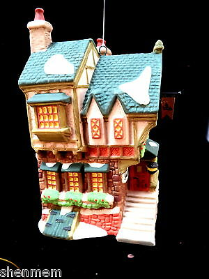 Dept 56 Dickens Village 1993 Ornament The Pied Bull Inn, Nos