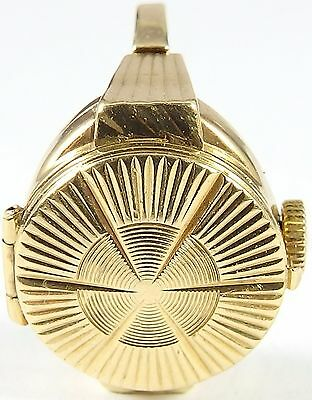 Vintage Gold Swiss 21 jewel Rotary ring watch Size O 1/2 Has just been serviced