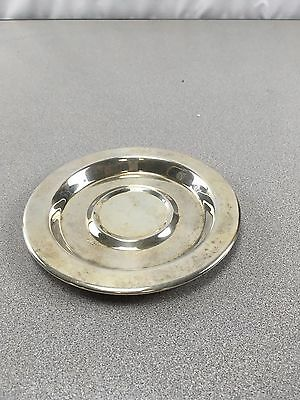 Vintage Wm A Rogers Oneida Ltd Silverplated Candle Holder/ Plate