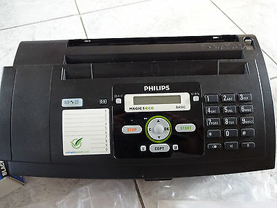 Fax Philips Magic 5 eco inkl. neuer Thermotransfer Rolle