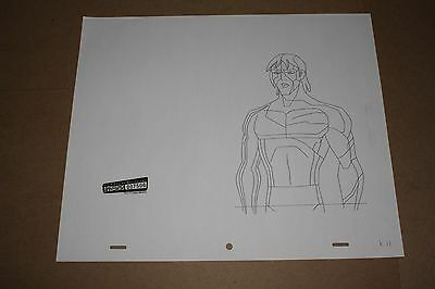 Original Animation Production Drawing from Ben 10 (cartoon network)